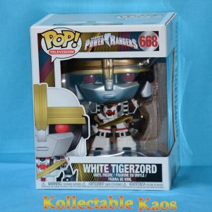 FUN32288 Power Rangers White Tigerzord Pop 1 300x300 - Power Rangers - White Tigerzord 15cm Pop! Vinyl Figure (RS) #668