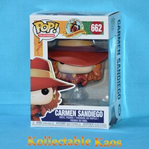FUN32452 WITW Carmen Sandiego Fade Pop 1 300x300 - Where In The World Is Carmen Sandiego? - Carmen Sandiego Fade Pop! Vinyl (RS) #662