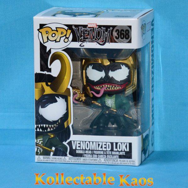 FUN32688 SpiderMan Venom Loki Pop 1 600x600 - Venom - Venomized Loki Pop! Vinyl Figure  #368 + protector