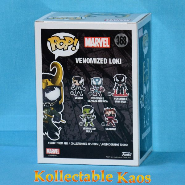 FUN32688 SpiderMan Venom Loki Pop 2 600x600 - Venom - Venomized Loki Pop! Vinyl Figure  #368 + protector