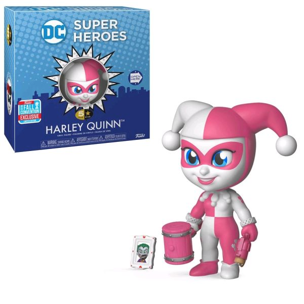 "FUN33246 DC 5S Pink Harley 1 600x600 - Batman - Harley Quinn Pink 5 Star 4"" Vinyl Figure (2018 Fall Convention Exclusive) (RS)"