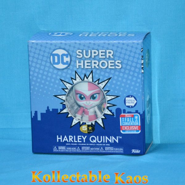 "FUN33246 DC 5S Pink Harley 2 600x600 - Batman - Harley Quinn Pink 5 Star 4"" Vinyl Figure (2018 Fall Convention Exclusive) (RS)"