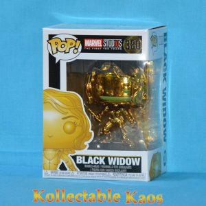 FUN33516 POP Marvel 10 black widow 1 300x300 - Marvel Studios 10th Anniversary - Black Widow Gold Chrome Pop! Vinyl #380