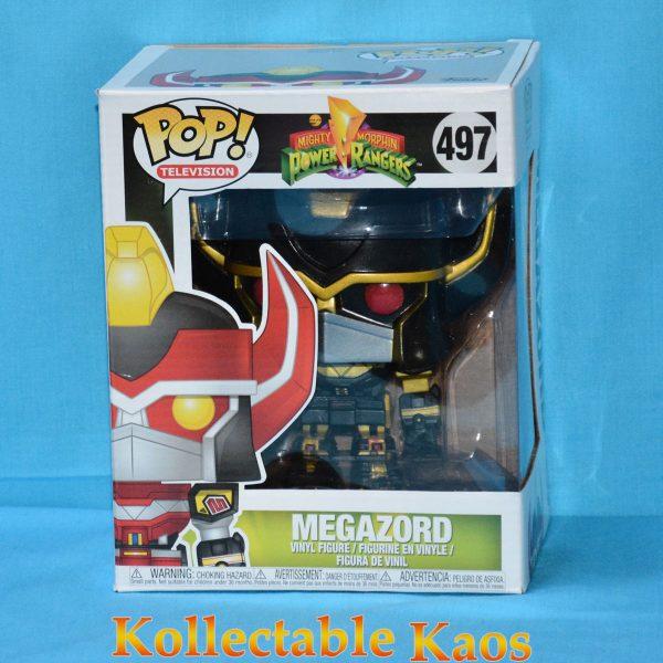 FUN33615 Power Rangers Megazord BK GD Pop 1 600x600 - Power Rangers - Megazord 15cm Black & Gold Pop! Vinyl Figure (RS) #497