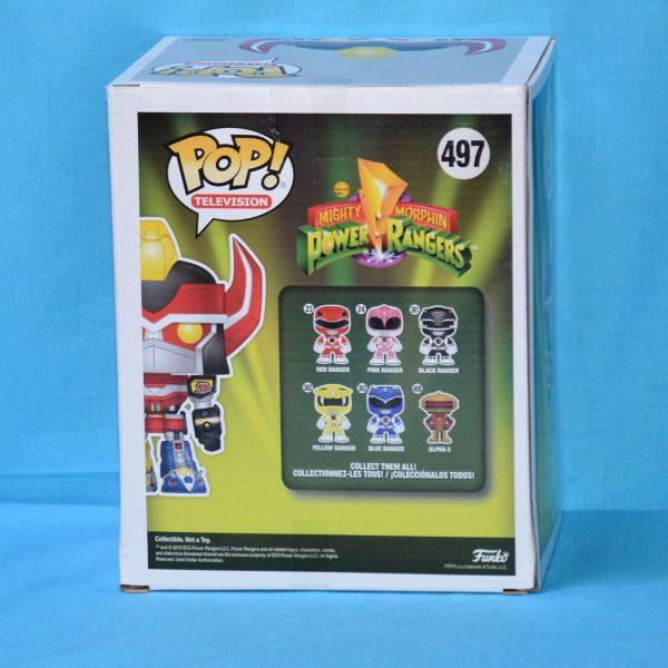 FUN33615 Power Rangers Megazord BK GD Pop 2 600x600 - Power Rangers - Megazord 15cm Black & Gold Pop! Vinyl Figure (RS) #497