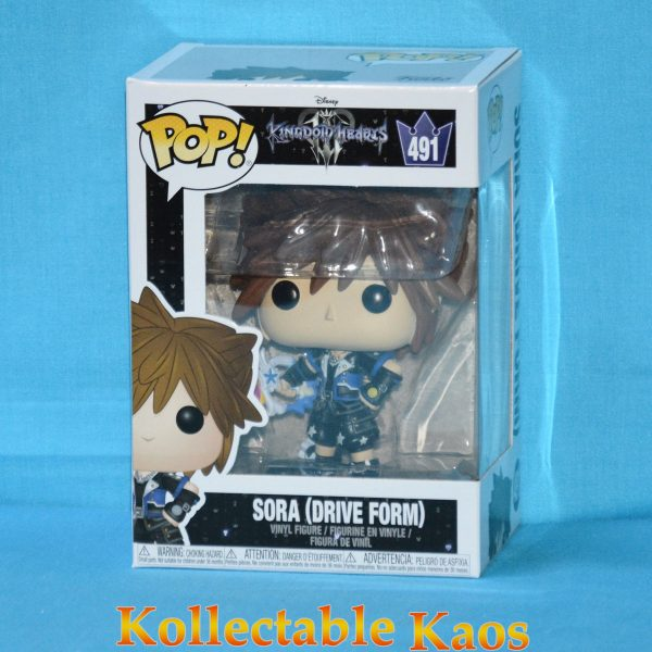 FUN34060 Kingdom Hearts 3 Sora Drive Form Pop 1 600x600 - Kingdom Hearts III - Sora Drive Form Pop! Vinyl Figure (RS) #491