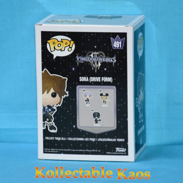 FUN34060 Kingdom Hearts 3 Sora Drive Form Pop 2 600x600 - Kingdom Hearts III - Sora Drive Form Pop! Vinyl Figure (RS) #491