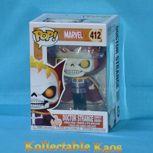 FUN34252 Marvel Dr Strange as Ghost Rider Pop 1 300x300 - Marvel - Doctor Strange as Ghost Rider Pop! Vinyl LACC 2018 (RS) #412 + Protector