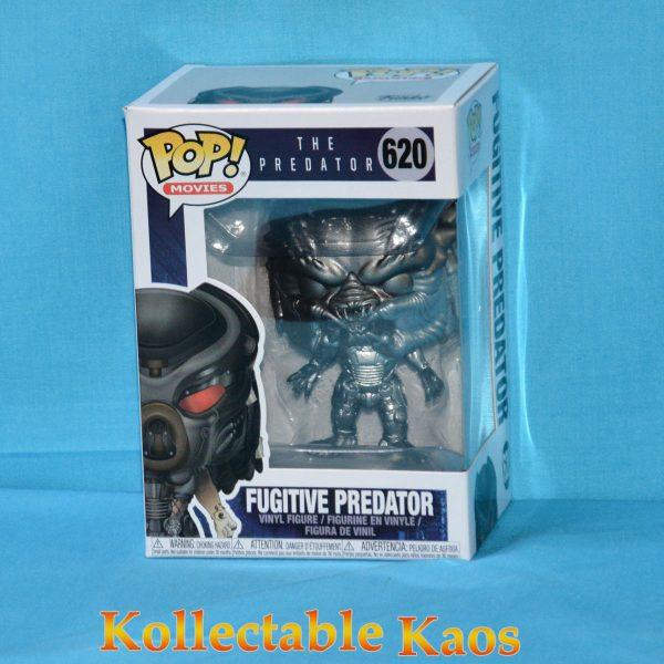 FUN35344 The Predator Predator Pop Vinyl 1 600x600 - The Predator (2018) - Fugitive Predator Gun Metal Metallic Pop! Vinyl Figure (RS) #620