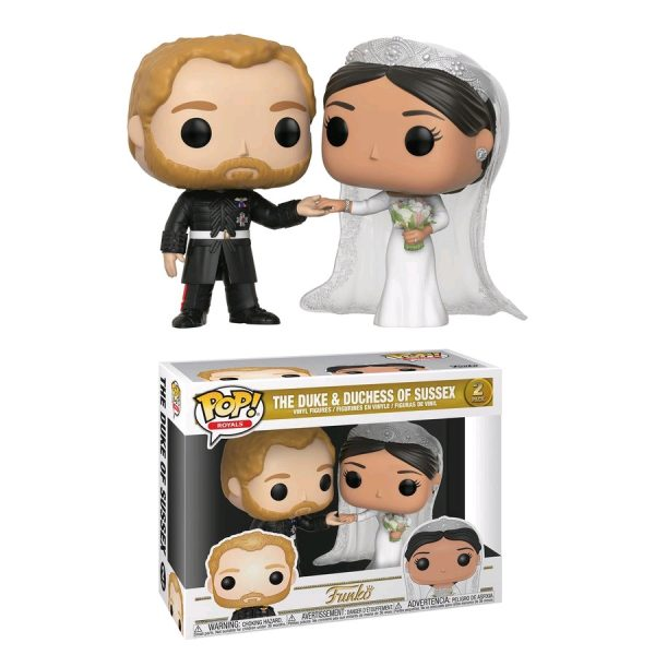 FUN35720 Royals The Duke and Duchess of Sussex Pop 600x600 - Royal Family - Duke & Duchess of Sussex Pop! Vinyl 2-pack