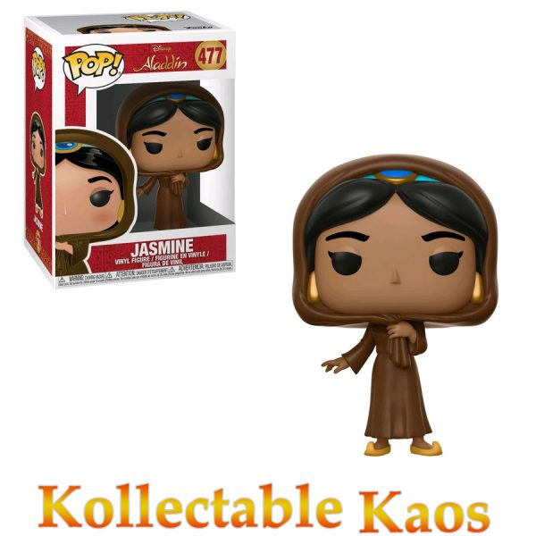 FUN35754 Aladdin Jasmine Pop 600x600 - Aladdin - Jasmine in Disguise Pop! Vinyl Figure #477