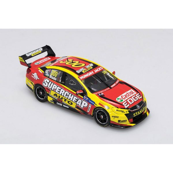 B43H15H Holden VF Slade 1 600x600 - 1:43 Biante - 2015 Holden VF Commodore - Supercheap Auto Racing - #300 Slade