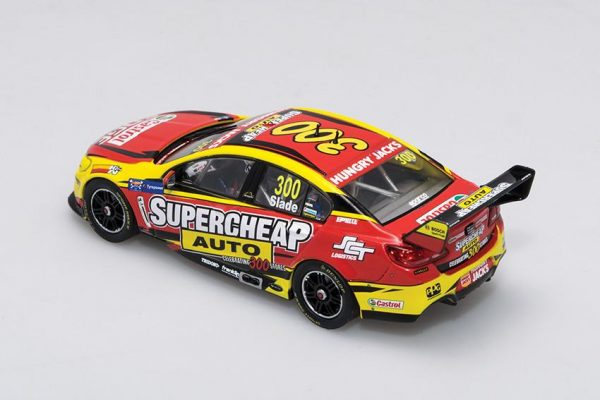 B43H15H Holden VF Slade 2 600x400 - 1:43 Biante - 2015 Holden VF Commodore - Supercheap Auto Racing - #300 Slade