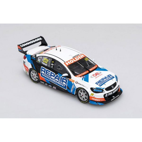 B43H15U Holden VF Percat 1 600x600 - 1:43 Biante - 2015 Holden VF Commodore - Lucas Dumbrell Motorsport - #222 Percat