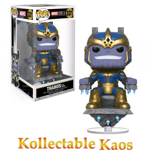 FUN29832 Thanos on Thrones Pop 600x600 - Marvel Studios: The First Ten Years - Thanos on Throne 20cm Pop! Vinyl (RS) #331