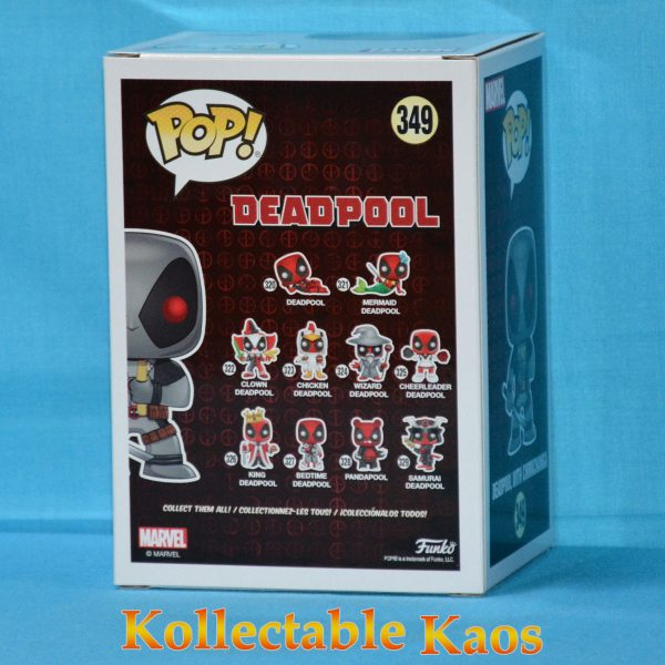 FUN31401 Deadpool Grey Chimichanga Pop 2 600x600 - Deadpool - X-Force Deadpool with Chimichanga Pop! Vinyl Figure #349