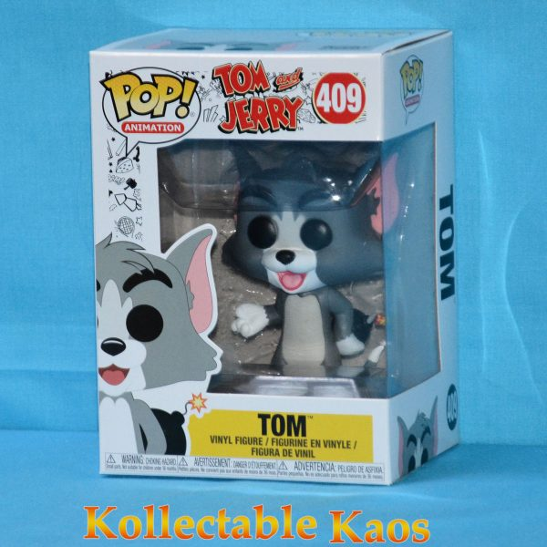 FUN32673 Tom Jerry Tom Explosive Pop 1 600x600 - Tom and Jerry - Tom with Explosives Pop! Vinyl Figure (RS) #409