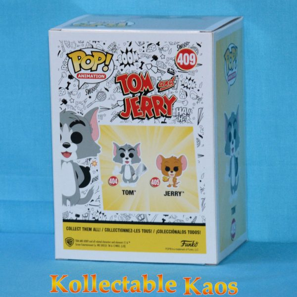 FUN32673 Tom Jerry Tom Explosive Pop 2 600x600 - Tom and Jerry - Tom with Explosives Pop! Vinyl Figure (RS) #409