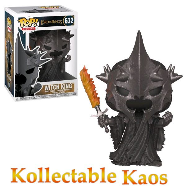 FUN33251 LOTR Hobbit Witch King Pop 600x600 - The Lord of the Rings - Witch King Pop! Vinyl Figure #632