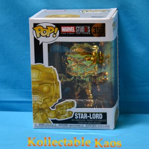 FUN34144 Marvel Studios Star Lord GD CH Pop 1 300x300 - Marvel Studios: The First Ten Years - Star-Lord Gold Chrome Pop! Vinyl Figure (RS) #353