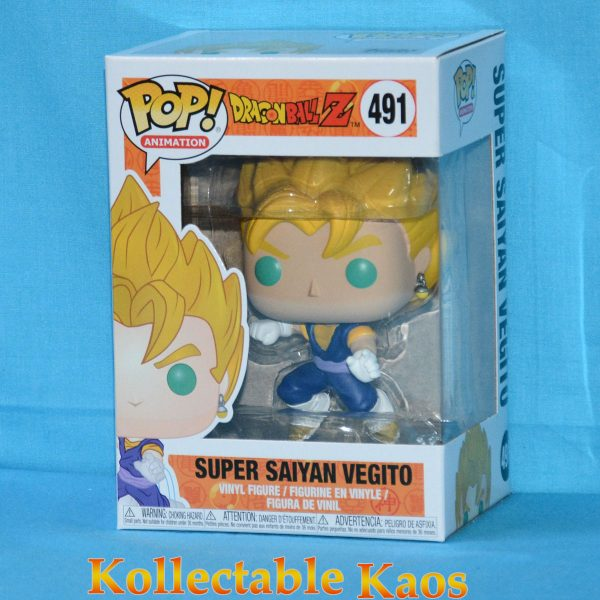 FUN34549 Dragonball Z SS Vegito Pop 1 600x600 - Dragon Ball Z - Super Saiyan Vegito Pop! Vinyl Figure (RS) #491