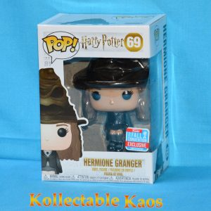 FUN34764 Harry Potter Hermione with Hat Pop 1 300x300 - NYCC 2018 - Harry Potter - Hermione with Sorting Hat Pop! Vinyl Figure (RS) #69 + Pop Protector