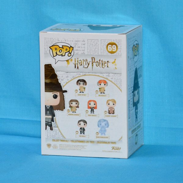 NYCC 2018 - Harry Potter - Hermione with Sorting Hat Pop! Vinyl Figure (RS) #69