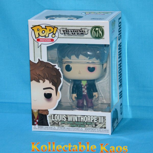 FUN34891 Trading Places Louis Beat Up Pop 1 600x600 - Trading Places - Louis Winthorpe III Beat Up Pop! Vinyl Figure (RS) #678