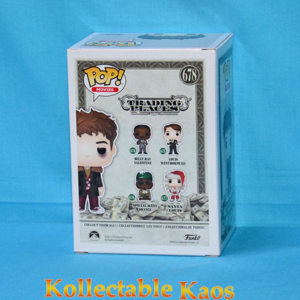 FUN34891 Trading Places Louis Beat Up Pop 2 600x600 - Trading Places - Louis Winthorpe III Beat Up Pop! Vinyl Figure (RS) #678