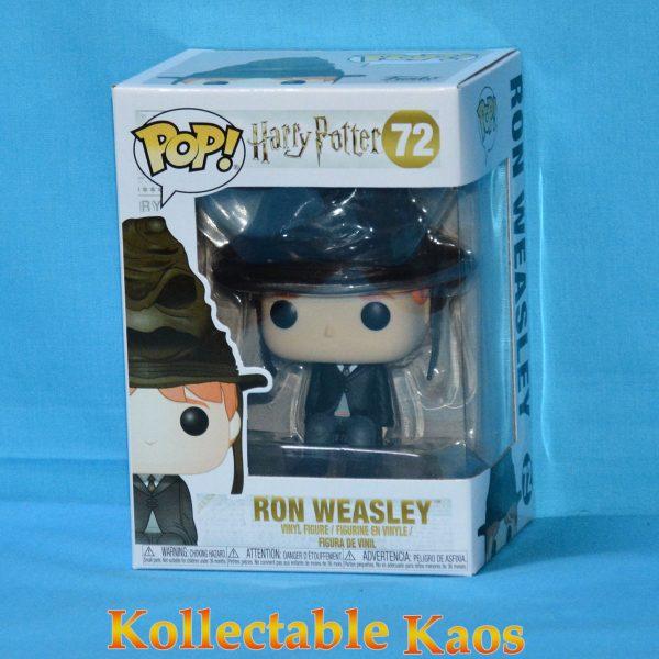 FUN35516 HarryPotter RonWeasley Pop 1 600x600 - Harry Potter - Ron Weasley with Sorting Hat Pop! Vinyl Figure (RS) #72