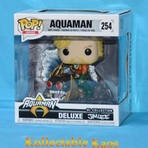 FUN35568 Aquaman Jim Lee MM Pop 1 300x300 - Aquaman - Aquaman Jim Lee Collection Deluxe Pop! Vinyl Figure (RS) #254