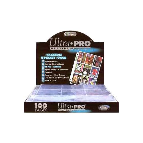 UPRO209D ultrapro 9pocketbox 1 - Ultra Pro - 9 Pocket Pages (Box of 100)