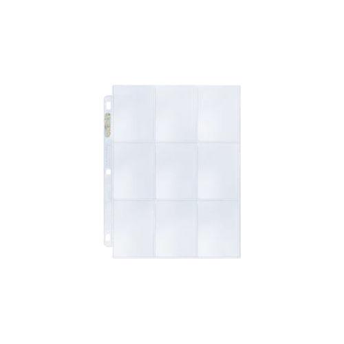 UPRO209D ultrapro 9pocketbox 2 - Ultra Pro - 9 Pocket Pages (Box of 100)