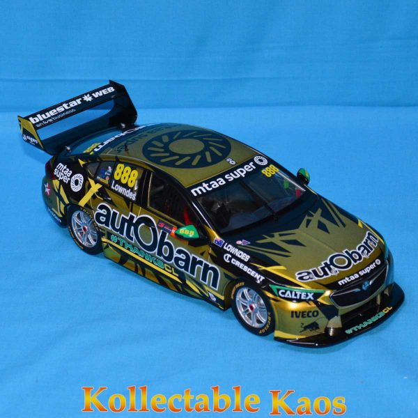 1:18 Classics - 2018 Holden ZB Commodre - Craig Lownde's Final Race