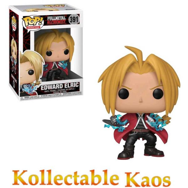 FUN30697 FMA Edward Pop 600x600 - Fullmetal Alchemist - Edward Elric Pop! Vinyl Figure #391