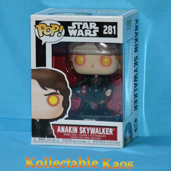 FUN31681 SW Dark Side Anakin Pop 1 600x600 - Star Wars - Anakin Skywalker Dark Side Pop! Vinyl Figure (RS) #281