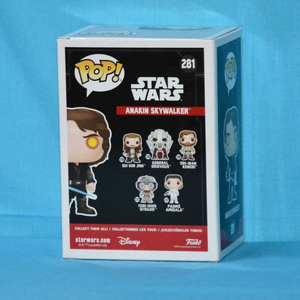 FUN31681 SW Dark Side Anakin Pop 2 600x600 - Star Wars - Anakin Skywalker Dark Side Pop! Vinyl Figure (RS) #281