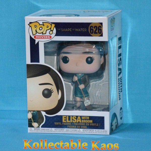 FUN32483 The Shape Of Water Elisa Pop 1 600x600 - The Shape Of Water - Elisa with Broom Pop! Vinyl Figure #626