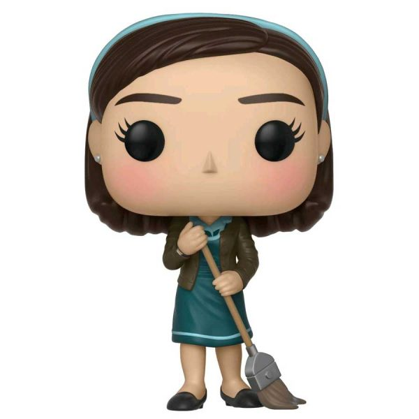 FUN32483 The Shape Of Water Elisa Pop 3 600x600 - The Shape Of Water - Elisa with Broom Pop! Vinyl Figure #626