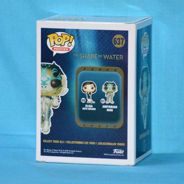 FUN32485 The Shape Of Water Amphibian Man Pop 2 600x600 - The Shape Of Water - Amphibian Man Pop! Vinyl Figure #637