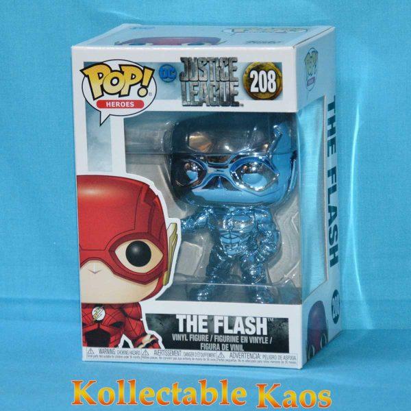 FUN35471 JusticeLeague FlashBlueChrome Pop 1 600x600 - Justice League (2017) - The Flash Light Blue Chrome Pop! Vinyl Figure #208