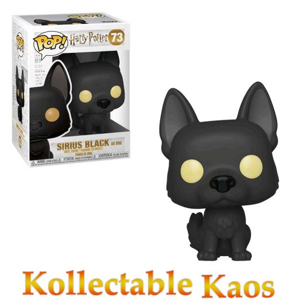 FUN35514 Harry Potter Sirius Black Pop 600x600 - Harry Potter - Sirius Black as Dog Pop! Vinyl Figure #73