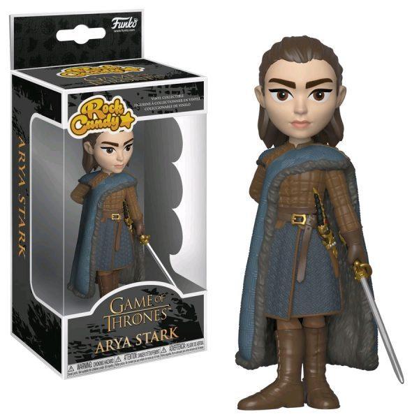 FUN35554 GOT Arya RockCandy 600x600 - Game of Thrones - Arya Stark Rock Candy 12.5cm Vinyl Figure