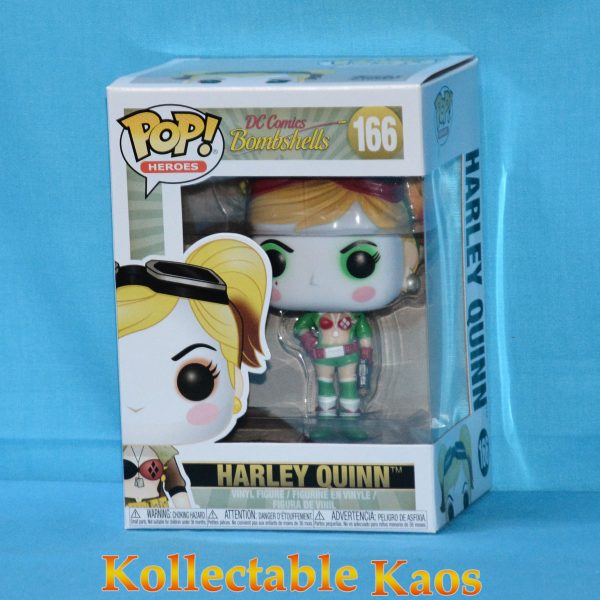 FUN35966 DC Bombshells HarleyQuinn Holiday Pop 1 600x600 - DC Bombshells - Harley Quinn Holiday Pop! Vinyl Figure (RS) #166