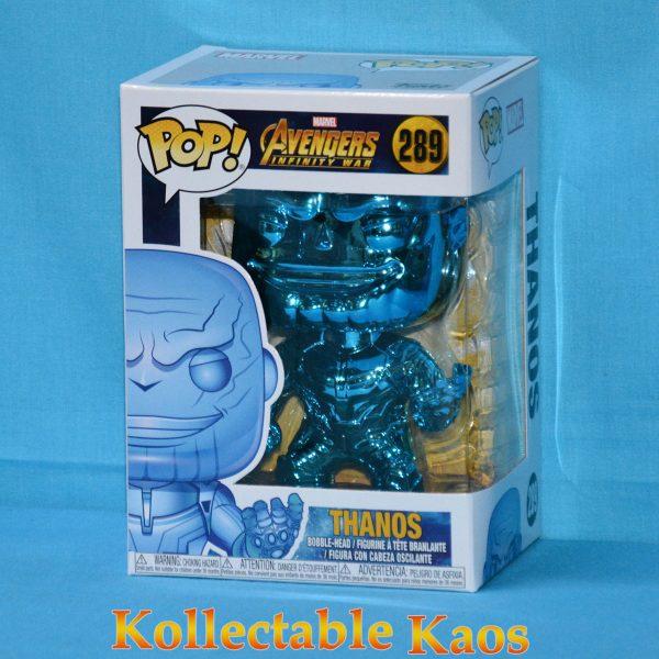 FUN36219 Avengers 3 Thanos BU CH Pop 1 600x600 - Avengers 3: Infinity War - Thanos Blue Chrome Pop! Vinyl Figure (RS) #289