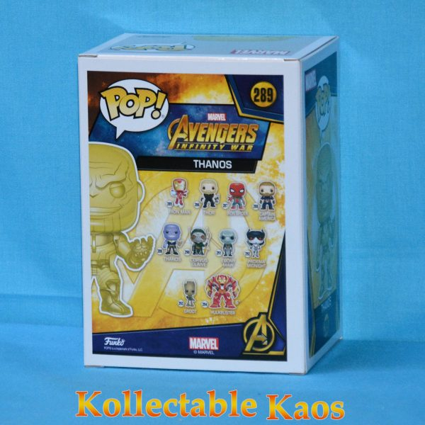 FUN36221 Avengers 3 Thanos YW CH Pop 2 600x600 - Avengers 3: Infinity War - Thanos Yellow Chrome Pop! Vinyl Figure (RS) #289