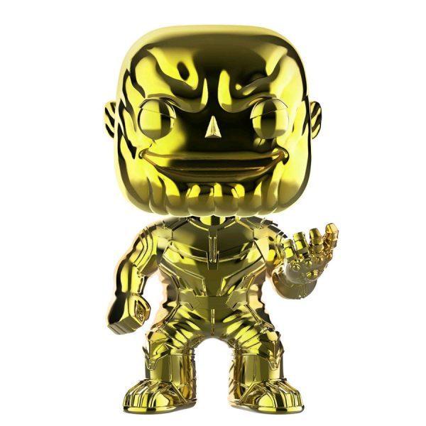FUN36221 Avengers 3 Thanos YW CH Pop 3 600x600 - Avengers 3: Infinity War - Thanos Yellow Chrome Pop! Vinyl Figure (RS) #289