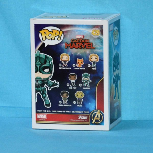 FUN36352 Captain Marvel Yon Rogg Pop 2 600x600 - Captain Marvel (2019) - Yon-Rogg Pop! Vinyl Figure #427