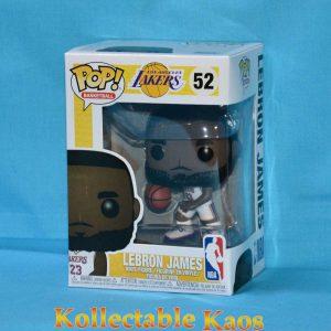 FUN37271 Lebron James White Uniform Pop 1 300x300 - NBA: Lakers - Lebron James White Uniform Pop! Vinyl Figure #52