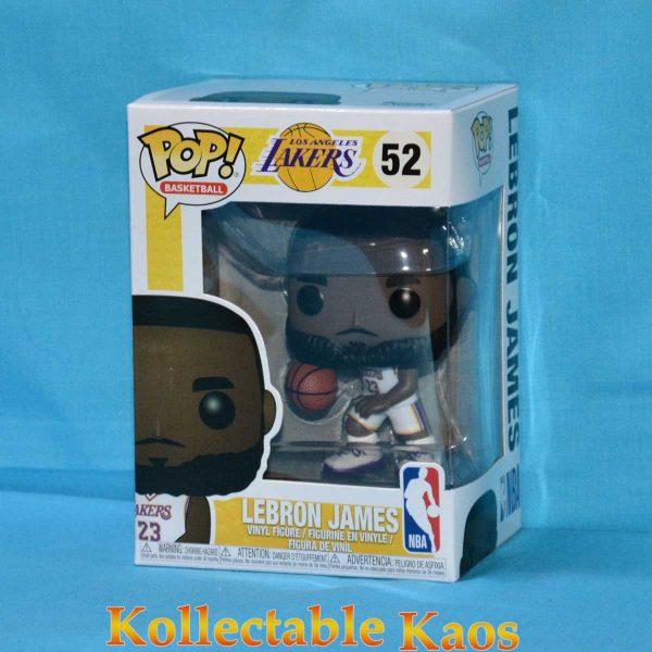 FUN37271 Lebron James White Uniform Pop 1 600x600 - NBA: Lakers - Lebron James White Uniform Pop! Vinyl Figure #52